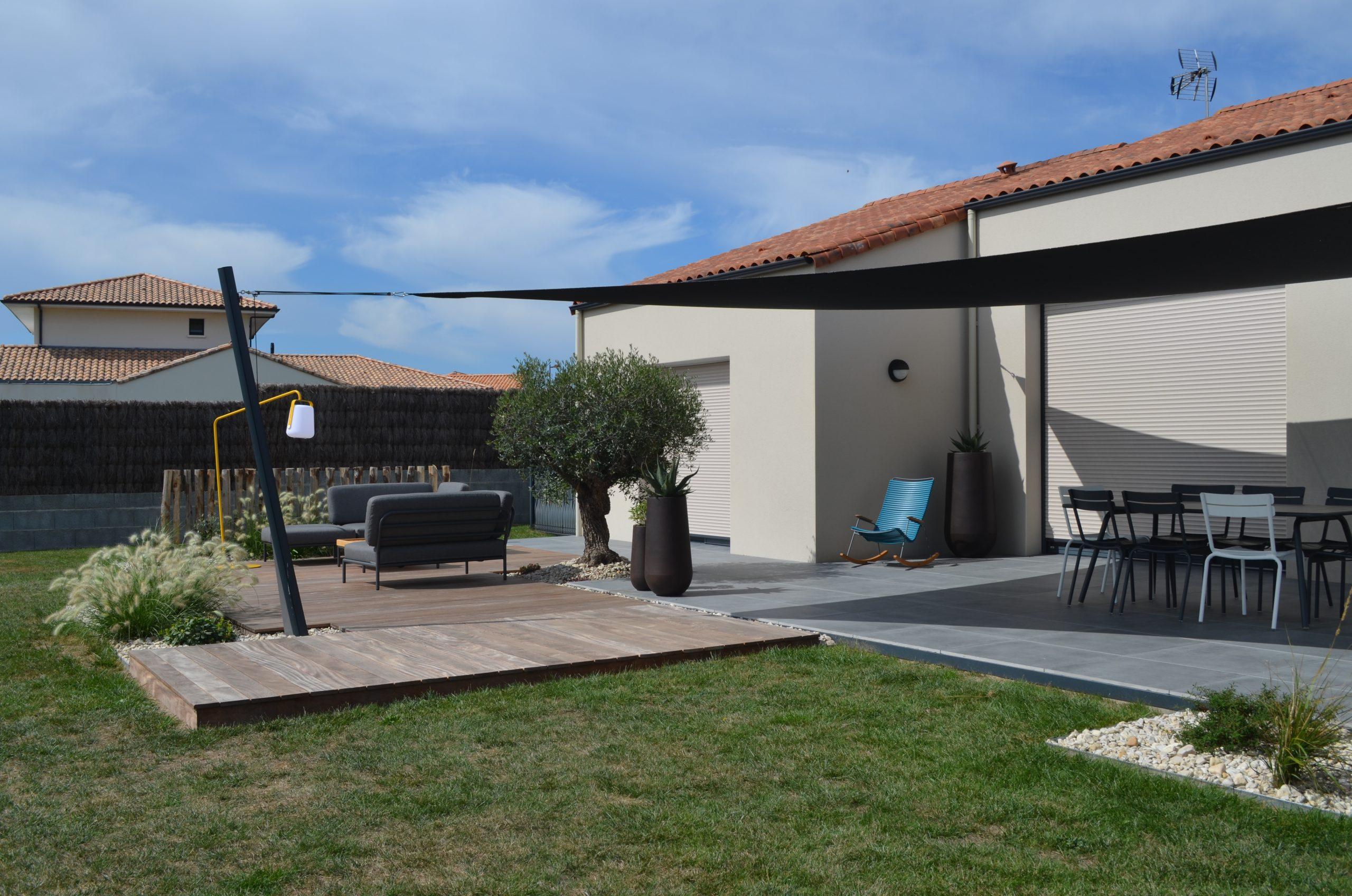 Aménagement terrasse moderne par Obojardin