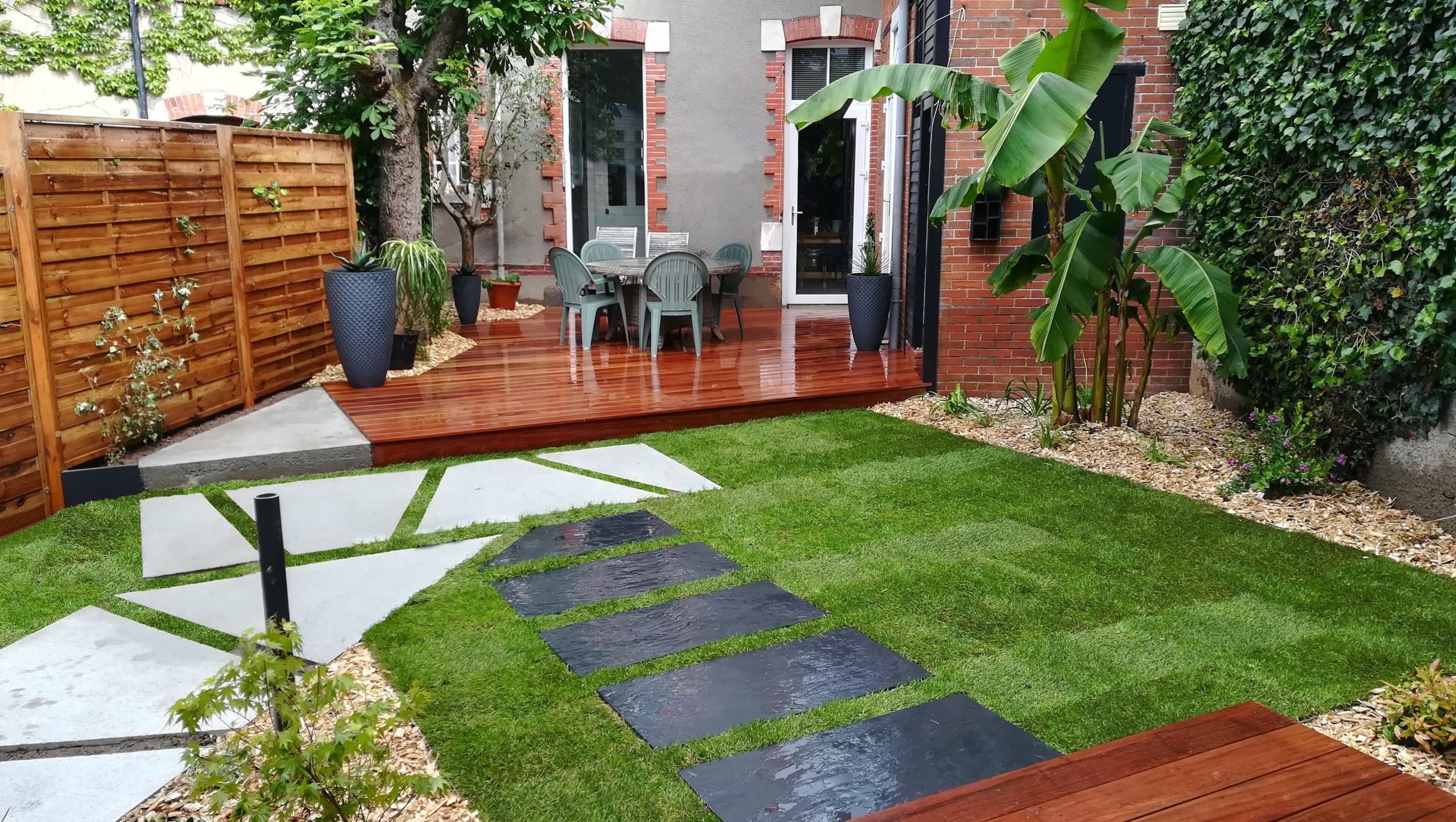 jardin après la pluie obojardin