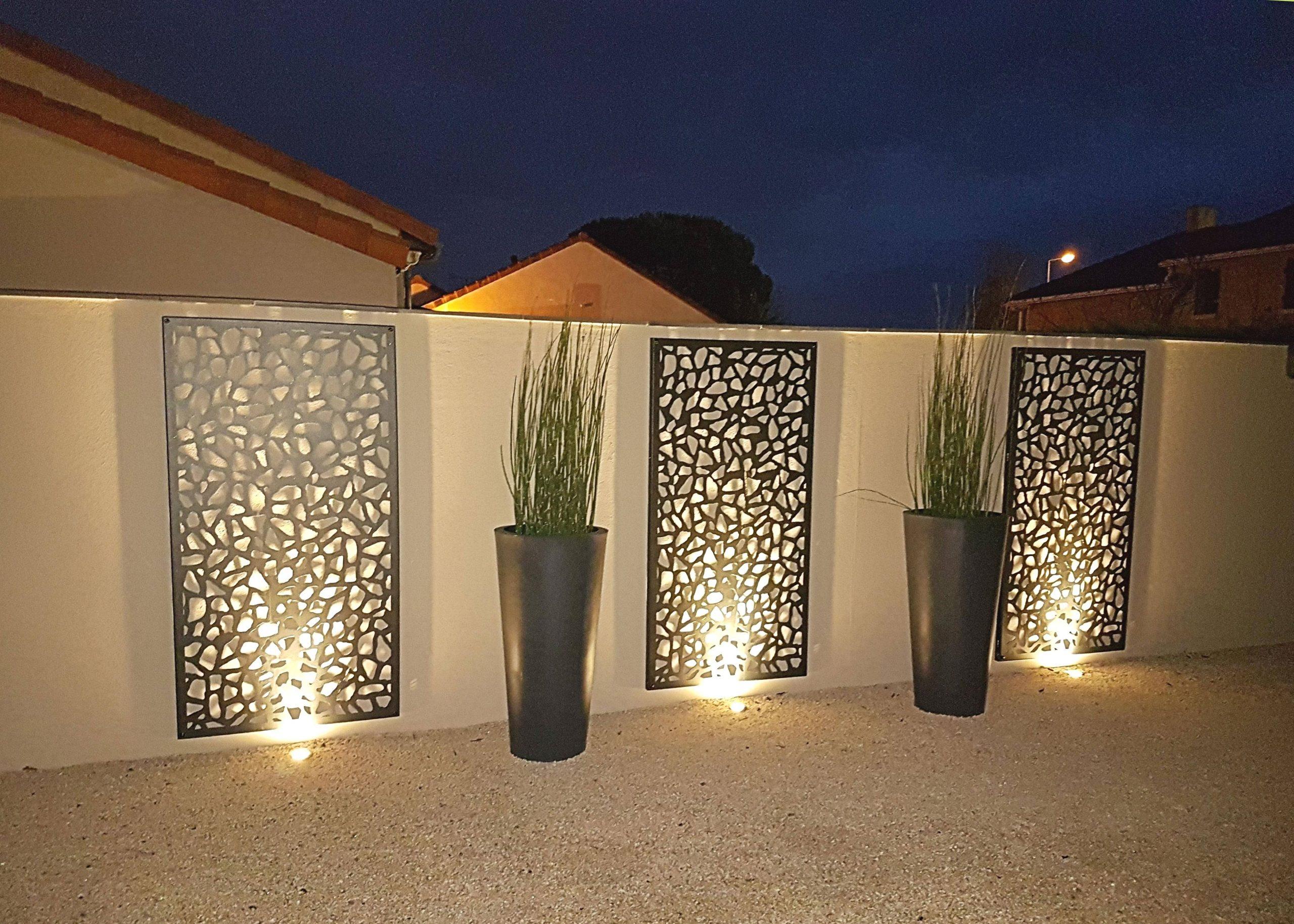 jardin de nuit par Obojardin